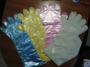 высокие акушерские перчатки