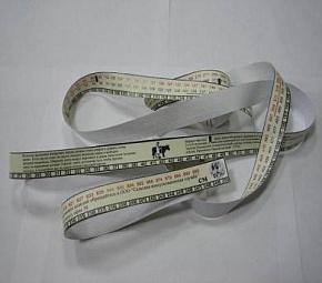 лента для измерения параметров животных